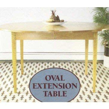 oval extension table downloadable plan dining table