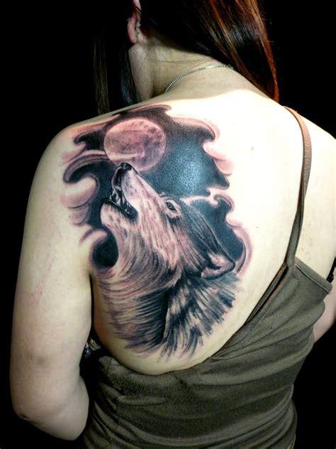meaningful wolf tattoo designs ideas