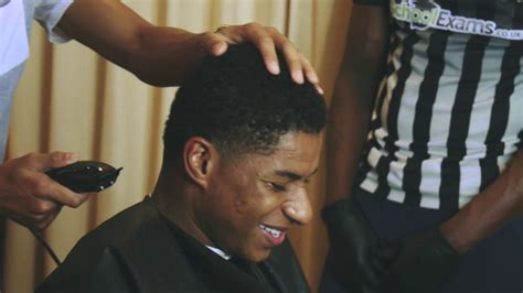 smokey barbers cuts england team youtube