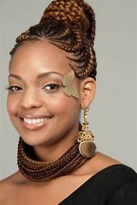 Coiffure Tresse Africaine : coiffure africaine tresse ~ Nature-et-papiers.com Idées de Décoration