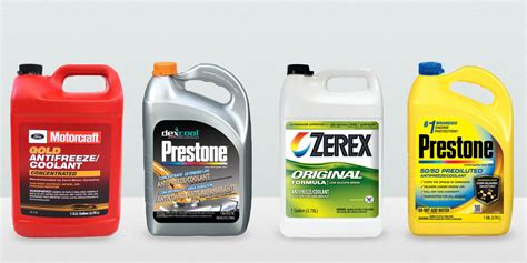 coolants   vehicle  types  coolant  antifreeze