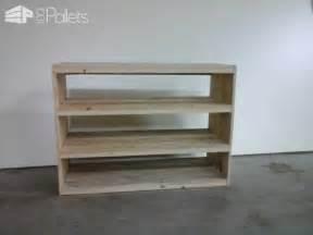 kitchen palette ideas etagère en bois de palette pallet shoes shelf 1001 pallets