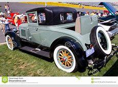 Classic 1928 REO Automobile Editorial Photo Image 53245471