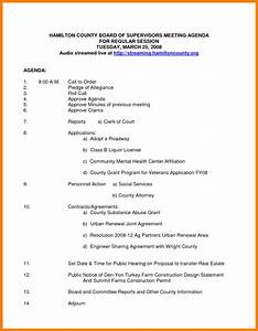 8 nonprofit board meeting agenda template letter format for for Non profit board meeting minutes template