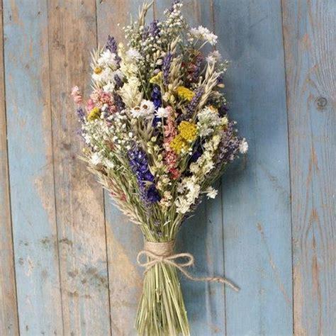 festival meadow dried flower bouquet   flowers