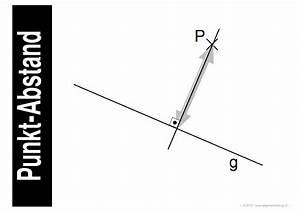 Abstand Punkt Gerade Berechnen : mathematik geometrie lernplakate wissensposter abstand ~ Themetempest.com Abrechnung