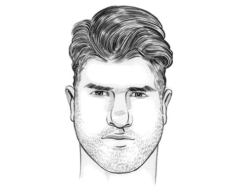 hairstyles  men   face shape atoz hairstyles