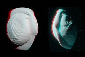 NASA's Cassini captures closeups of Saturn's UFO-shaped ...