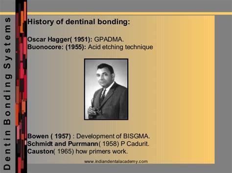 dentin bonding systems prosthodontic courses