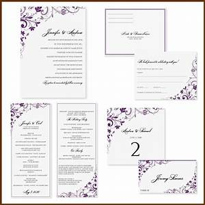 free printable wedding invitation templates for word With free wedding announcement templates for word