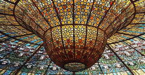 What Are Cathedral Ceilings by Palau De La M 250 Sica Catalana In Barcelona
