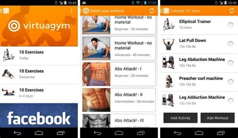 fitness apps for android 55 best free health fitness android apps
