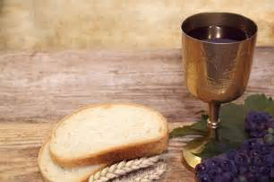 Holy Communion Bread and Cup