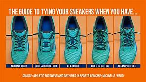The Correct Way To Tie Your Sneakers