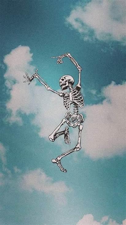 Skeleton Aesthetic Sky