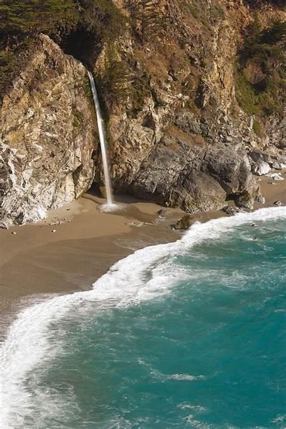 Waterfall Falls Mcway California Pfeiffer State Park