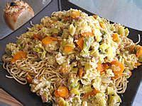 recettes de cuisine chinoise nouilles chinoises aux poireaux supertoinette la