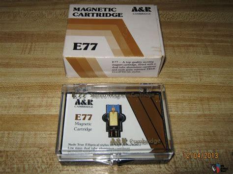 A&r Cambridge E77 Mm Cartridge Excellent Cond With Case