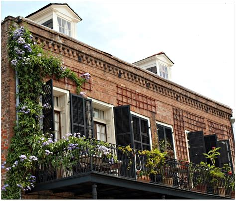 New Orleans Homes And Neighborhoods » French Quarter Balconies