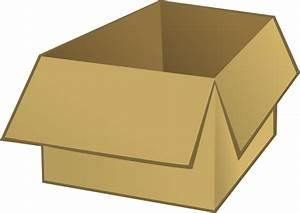 Open Box Clip Art At Clker Com