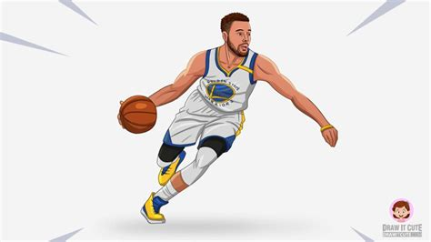 draw stephen curry nba step  step guide draw