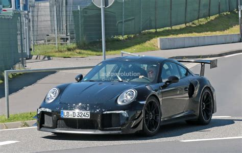 new porsche 911 new porsche 911 gt2 gt2 rs spied with racecar aero expect