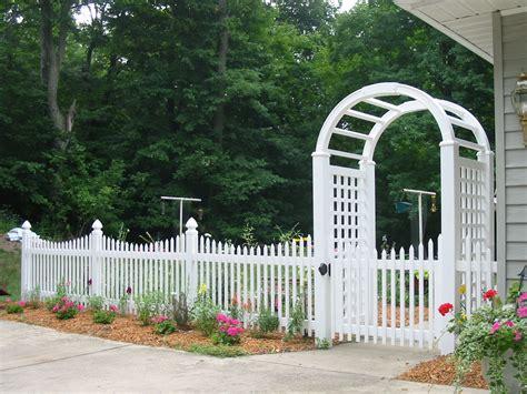 white wood picket fence panels home decor