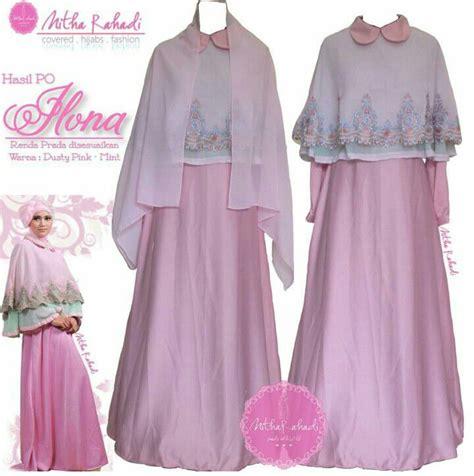 baju gamis bahan ceruti gamis pesta dan baju lebaran seragam keluarga ilona dress