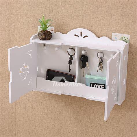 key hooks  wall wooden white modern decorative living
