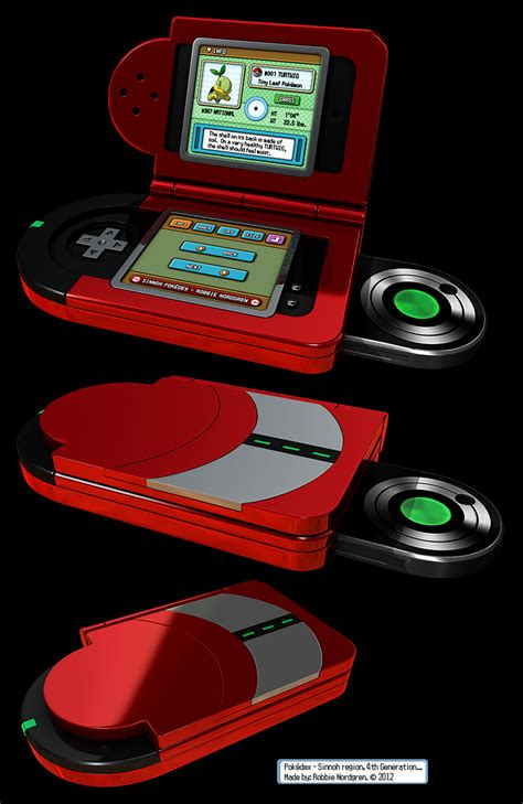 Pokedex 3d Sinnoh 4th Generation By Robbienordgren On