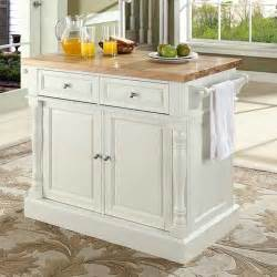 crosley kitchen island crosley oxford kitchen island with butcher block top reviews wayfair