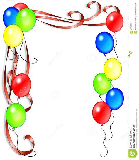 zelf l maken ballon de uitnodiging van de ballons van de verjaardag royalty