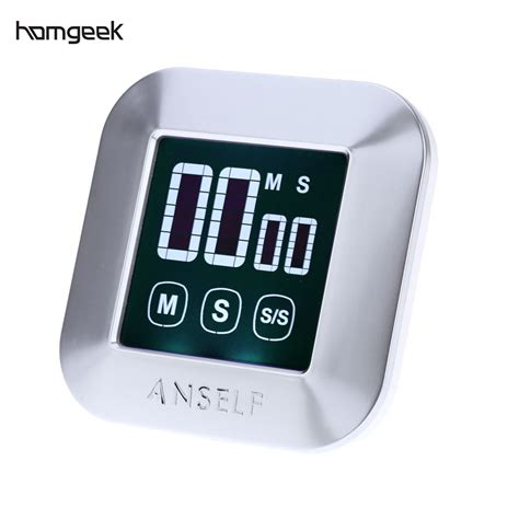 timer cuisine lcd digital touch screen kitchen timer practical cooking