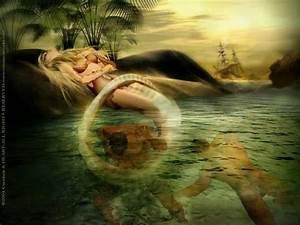 captured Evil Siren Mermaid   Sirens Song   Mermaids and ...
