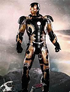 Iron Man Black And Gold Armor | www.pixshark.com - Images ...