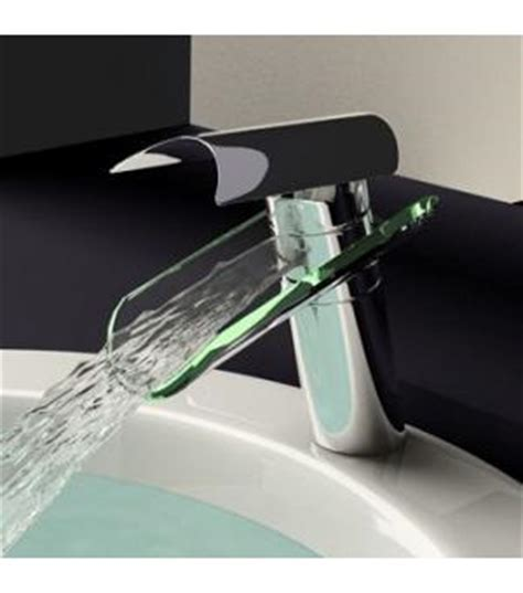 Glass Waterfall Bathroom Sink Faucet 0204B Wholesale