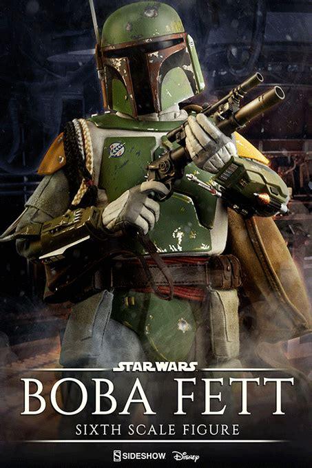 Boba Fett Sideshow 1/6 actionfigur - Empire Strikes Back
