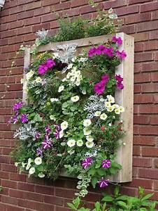 Décorer Un Mur Extérieur : 1001 tutoriels et id es pour fabriquer une jardini re en ~ Dailycaller-alerts.com Idées de Décoration