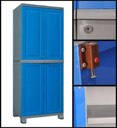 Neelkamal Cupboards by Freedom Blue And Grey Wardrobe By Nilkamal By