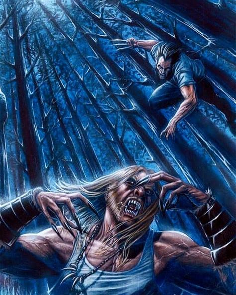 #WolverineVsSabretooth #sabretoothvswolverine # ...