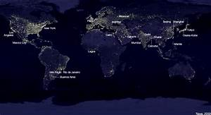 NASA World Night Map (page 2) - Pics about space
