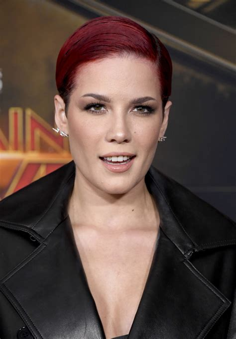 halsey cut short hairstyles lookbook stylebistro