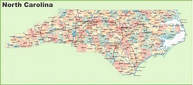 Map Of north Carolina Cities and Counties | secretmuseum