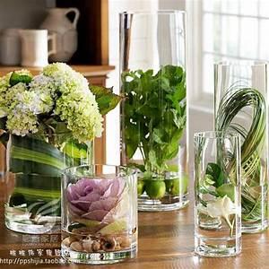 Tisch Blumen Hochzeit : transparente glas vase f r blumen hochzeit requisiten spur zylinder vase tisch blumenvasen vase ~ Orissabook.com Haus und Dekorationen