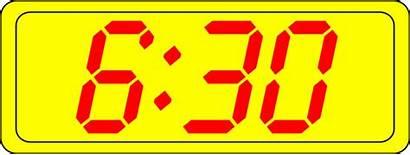 Clock Digital Clip Clipart Showing Clker Clocks