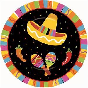 Prato de Sobremesa Festa Mexicana - Tema Mexicano