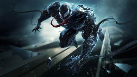 wallpaper venom artwork   movies