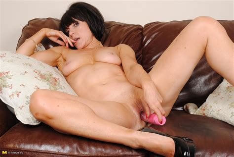 Christmas Naughty Milf Playing On Her Couch