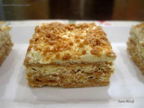 rival cake sans rival for kcc april 2011 recipes Sans