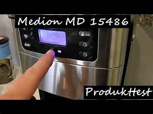 Medion Md 18600 Test : produkttest medion md 15486 kaffeemaschine derschwabenfabi youtube ~ Watch28wear.com Haus und Dekorationen